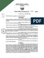 R.D. Nº 843 - Comité CAS - Sede