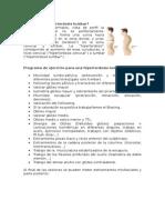 La Hiperlordosis Lumbar
