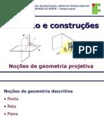 3- Aula 3 -Geometria Projetiva