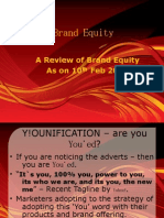 Brand Equity Articles