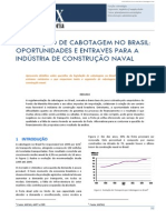 Legislação de Cabotagem No Brasil