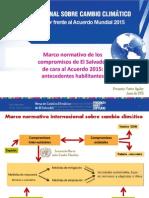 Presentaciones Del Foro Nacional Sobre Cambio Climático_MCCSV - 16Jun2015