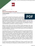 Entrevista com Jesús Martín-Barbero - Revista Pesquisa Fapesp