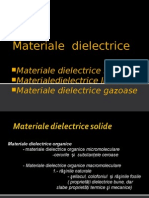 Materiale dielectrice solide
