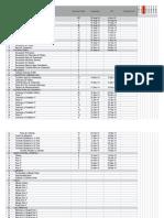 Programación de Obra Excel