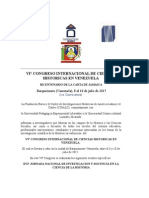 Viº Congreso Internacional de Cs Historicas 1º Convocatoria (2)