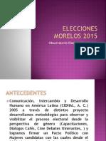 OEPGMorelos Elecciones 2015 Morelos