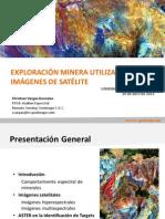EXPLORACIÓN MINERA CON IMÁGENES DE SATÉLITE