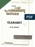 Clarinete - Método - Rubank - Nível Básico