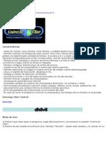 tutorial de como instalar Ciber Control