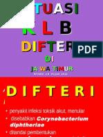Situasi Difteri Jatim - 25 Juni 2012 for JEMBER