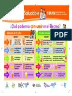 Afiche Recreo Saludable