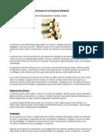 Quiropractico Cusco - La Artrosis en la Columna Vertebral