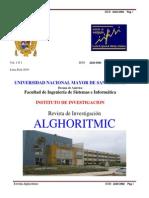 Revista Alhoritmic FISI 2011