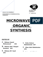 Microwave in Organic Synthesis