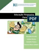 Educação Financeira Para Jovens- Ronaldo Arnold