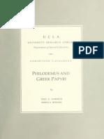 Philodemus and Greek Papyri