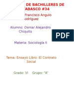 Contrato Social Ensayo Osmar Alejandro Chiquito VI A