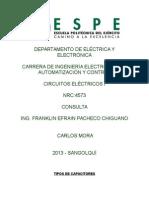 Consulta Capacitores e Inductores