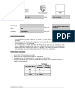 Certamen 2 Introduccion a La Mineria VESPERTINO 2015