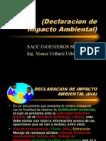 Declaracion Ambiental Dia