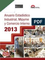 Anuario Estadistico Mype 2013