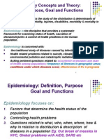 Concepts Theory Epidemiology