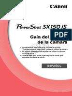 Canon Powershot Sx150 is (Manual Del Usuario)