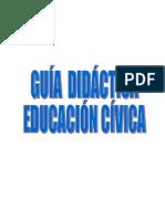 Guia Didactica de Civica Por Competencias