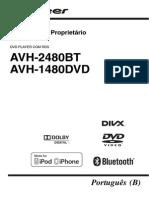 Manual Avh - 2480bt e Avh - 1480dvd Pioneer
