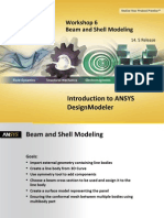 DM-Intro 14.5 WS-06 Beam and Shell Modeling