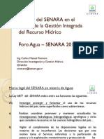 El papel del SENARA en el marco de la GIRH_3-Carlos Romero.pdf