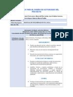 Matriz TPACK Para El Diseño de Actividades Del Proyecto-FINAL