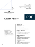 Ancient Hist 07 Hsc Exam