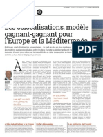 Colocalisation Euromed - p 18-19 - LA TRIBUNE n°70
