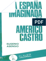La Espana Imaginada de Americo Castro