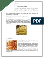 Cortes de Cocina