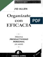 Organizate Con Eficacia