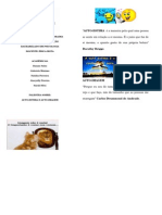Folder Auto Estima Auto Imagem