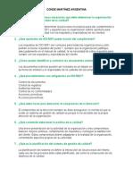 Preguntas ISO 9001