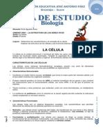 UNIDAD UNO Guia de Estudio Uno - La Célula.