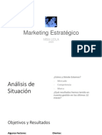 Análisis de Entorno FODA y Objetivos