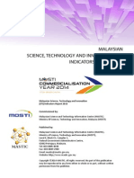 MALAYSIAN SCIENCE, TECHNOLOGY AND INNOVATION (STI) INDICATORS REPORT 2013