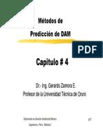 Capitulo IV - Métodos de Predicción de Dam [Modo de Compatibilidad]