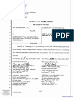 1st Technology LLC VS Sportingbet PLC., etal - Document No. 29
