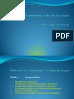 Conceptos Básicos Materiales de Construcción