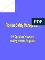 Pipeline Safety Mnagmnt