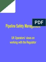 Pipeline Safety Mnagmnt