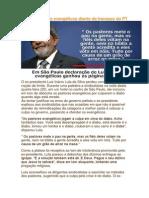 Lula Zomba Dos Evangélicos Diante Do Fracasso Do PT
