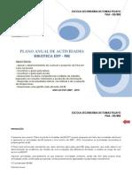 Http Www.estp.Edu.pt Moodle File.php File= 62 PLANO ANUAL de ACTIVIDADES-BE-2009 2010